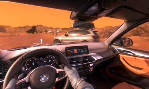 BMW x3 Mars