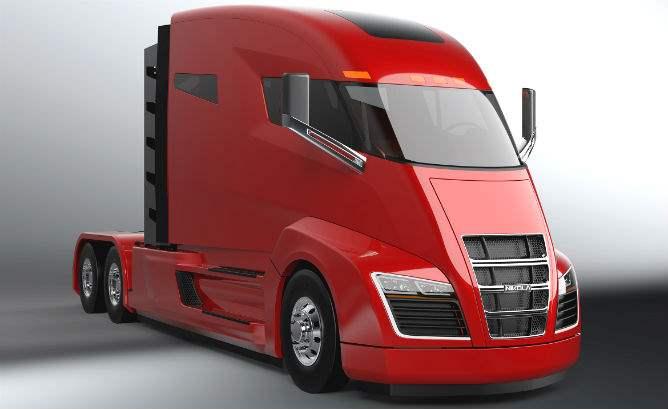 Tesla Motors грузовик