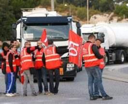 Протест грузовиков