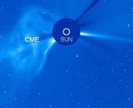 Вспышка на солнце 18.10.2017