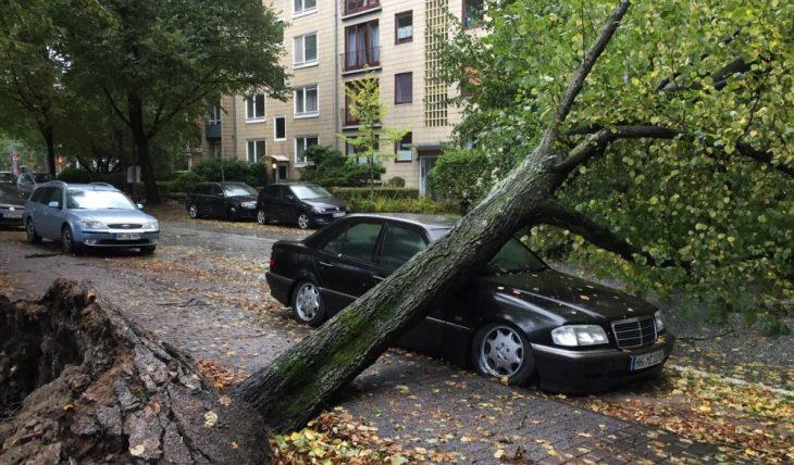 Германия ураган