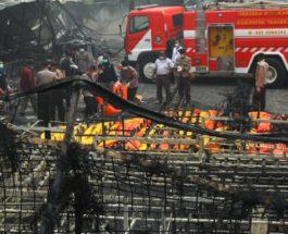 Индонезия взрыв