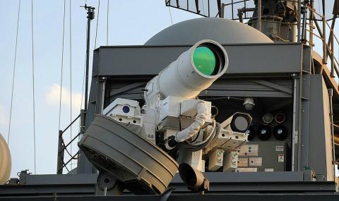 Лазерная пушка Китай
