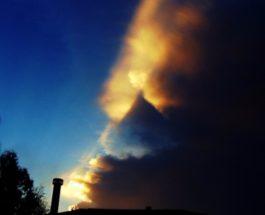 Луизиана треугольник в небе