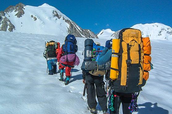 Монголия альпинисты