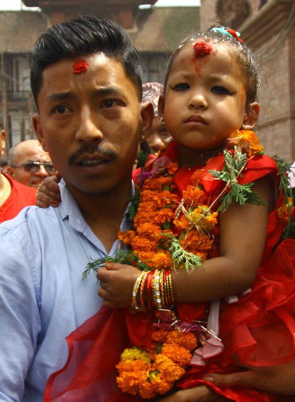 Непал Богиня