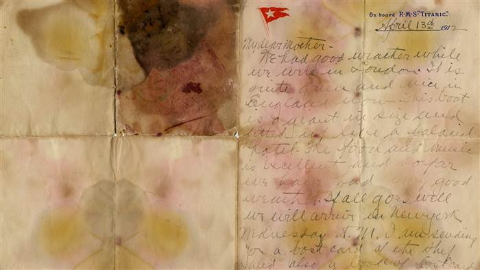 Письмо титаник
