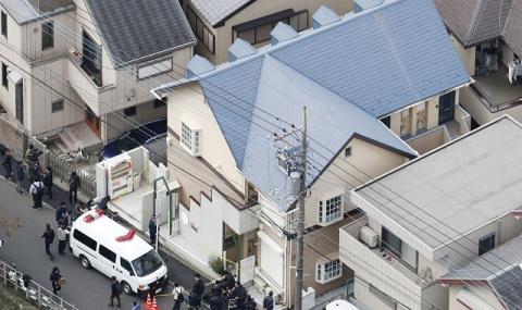 Япония останки тел