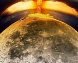 взрыв на луне