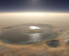 марс озеро