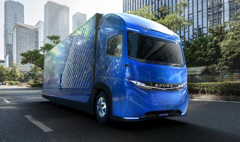 E-Fuso Vision One,грузовик