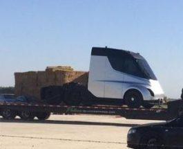 Tesla грузовик