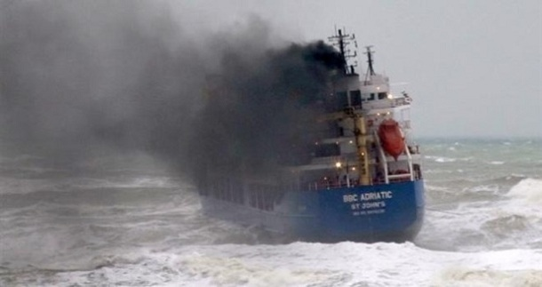 В Черном море пропало судно