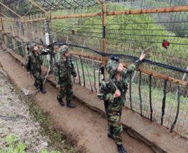 Граница Северной Кореи