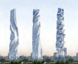 Дубай небоскреб