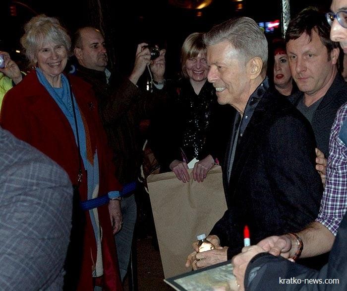Дэвид Боуи 69 лет