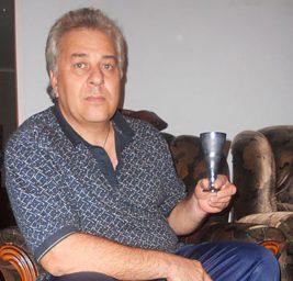 Игорь Подухевич с чашей