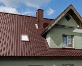Крыша профлист