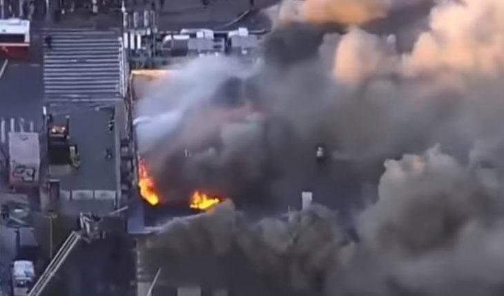Манхэттен пожар