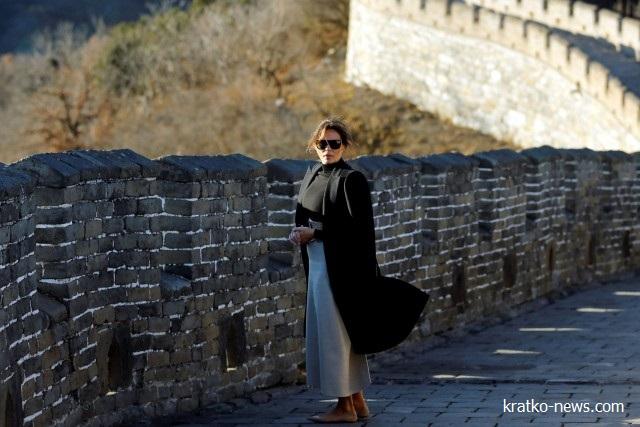 Мелания Трамп китайская стена