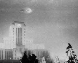 Удивительное наблюдение НЛО