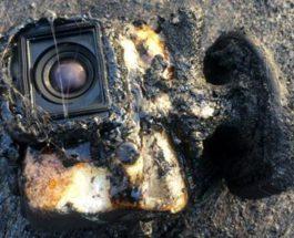 GoPro пережила лаву