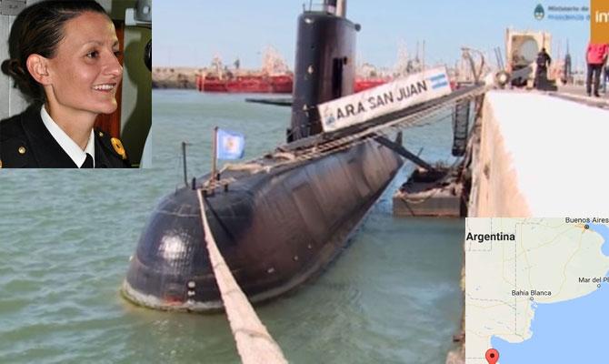 Пропала аргентинская подводная лодка