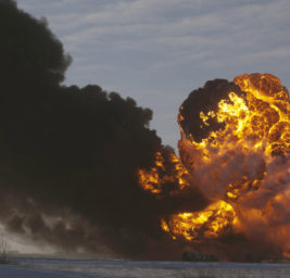 Вооруженные люди взорвали нефтепровод в Ливии