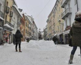 Италия плохая погода