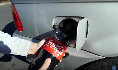 Кока-кола в бак