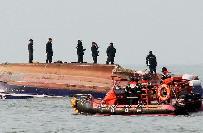 Лодка под танкер Южная Корея