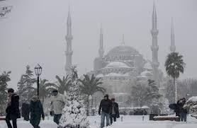 Морозы Турция