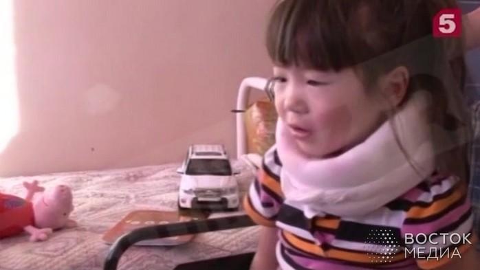 Девочка выписана из больницы