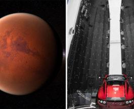 Тесла на Марс