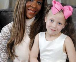 Черная мама белая девочка