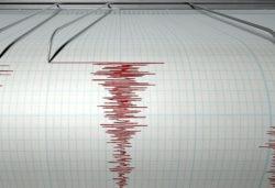 Сильное землетрясение у берегов Японии