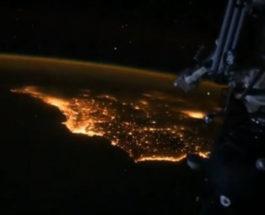 новый год в космосе