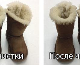 химическая очистка обуви