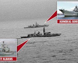 Admiral Gorshkov and HMS St. Albans