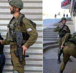 Израильские солдаты,мальчик,синдром дауна