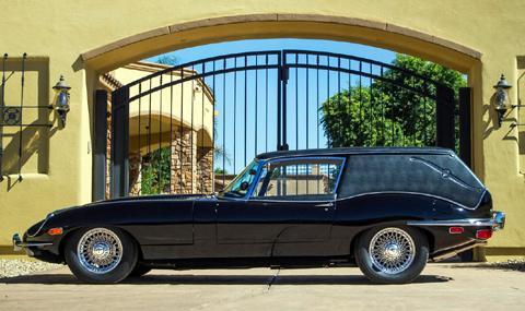 Jaguar E-Type катафалк