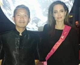 Анджелина Джоли и Прач Ли