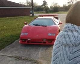 Дочке не понравилась Lamborghini
