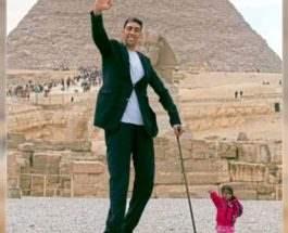 Самый высокий мужчина в мире