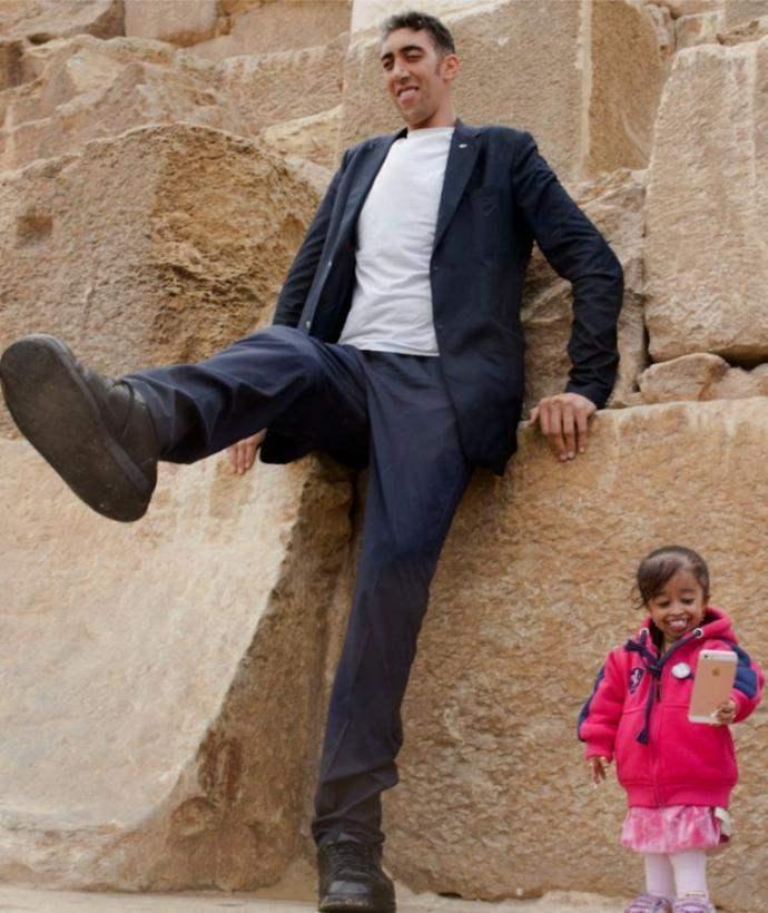 Самый высокий мужчина