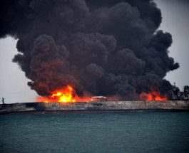 Иранский нефтяной танкер