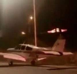 самолет приземлился
