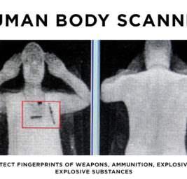 сканер человеческого тела