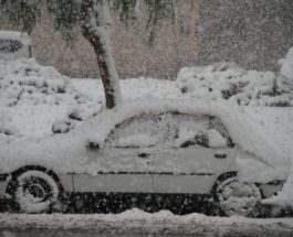 снег марокко 2018
