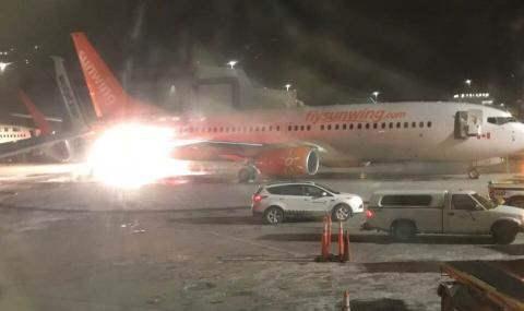 столкновение самолетов